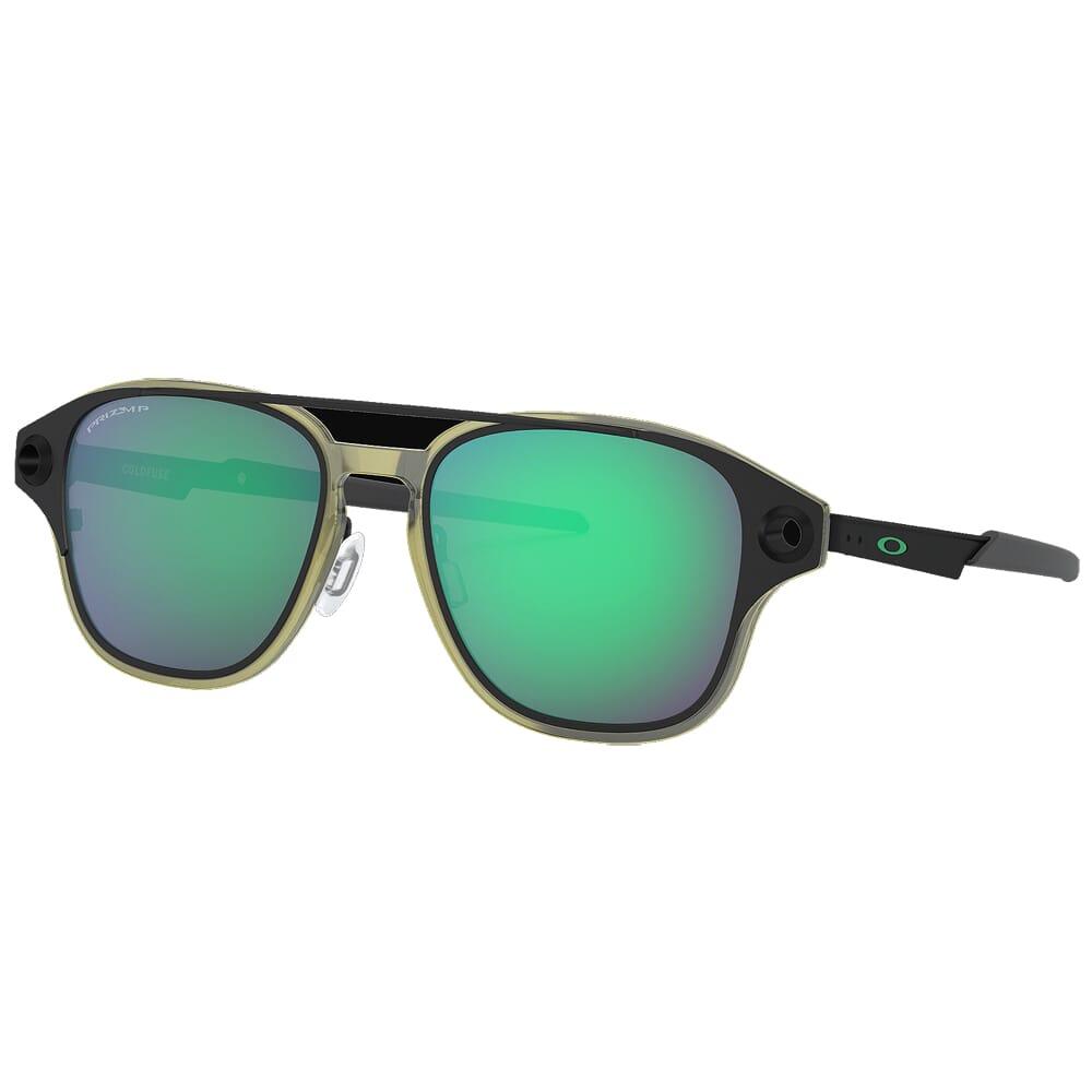 Oakley Coldfuse Matte Black w/PRIZM Jade Polished Lenses OO6042-0852
