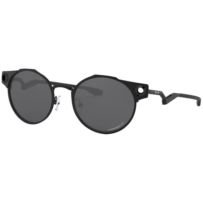 Oakley Deadbolt Satin Black w/PRIZM Black Polarized Lenses OO6046-0350