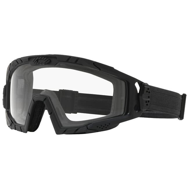 Oakley SI Ballistic Goggle 2.0 Black w/Clear Lenses OO7035-01