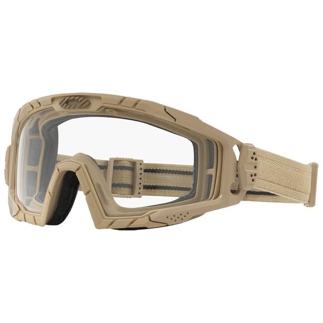 Oakley SI Ballistic Goggle 2.0 Dark Bone w/Clear Lenses OO7035-05