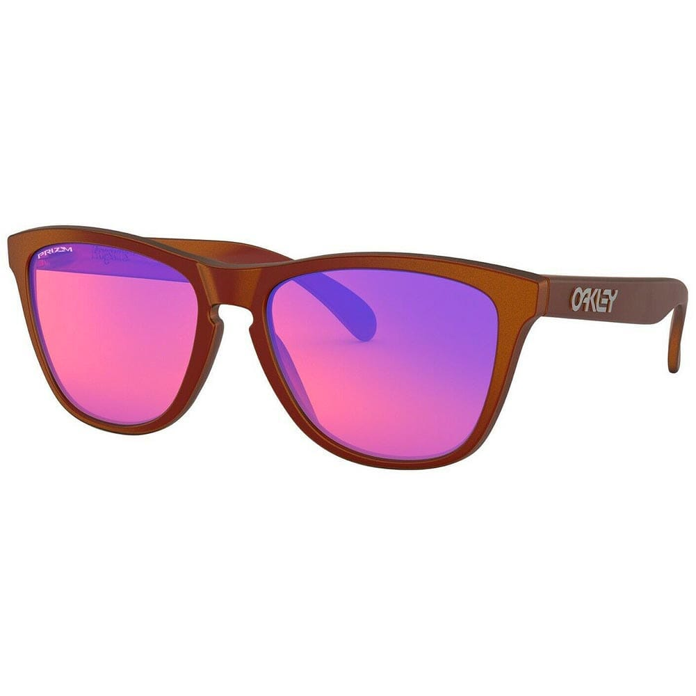 Oakley Frogskins Red/Gold Shift w/PRIZM Trail Lenses OO9013-F955