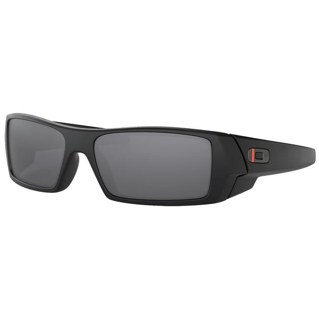 Oakley SI Gascan Thin Red Line Satin Black w/Black Iridium Lenses OO9014-2060
