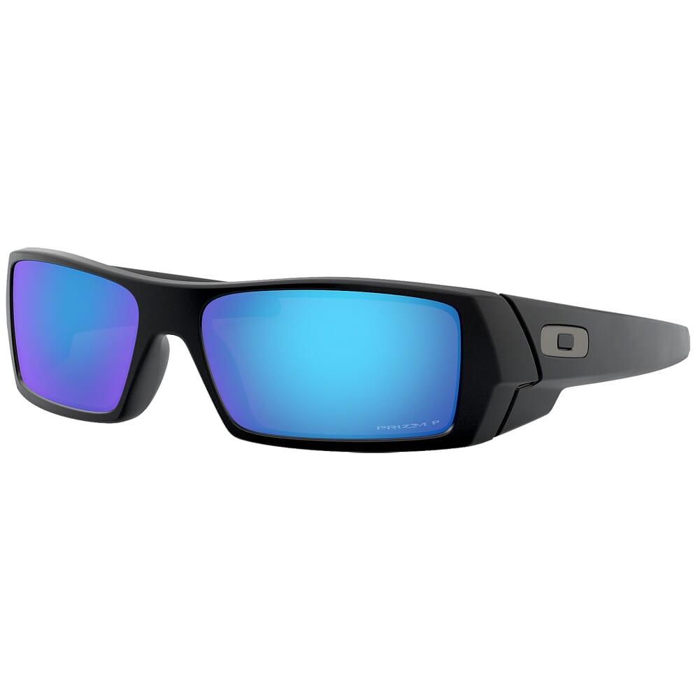 Oakley GasCan Matte Black w/PRIZM Sapphire Polarized Lenses OO9014-5060