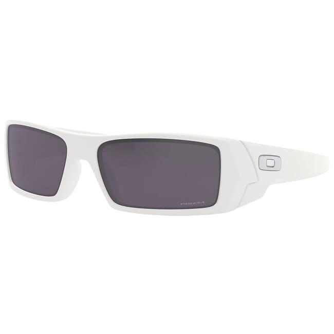 Oakley GasCan Matte White w/PRIZM Black Lenses OO9014-5260