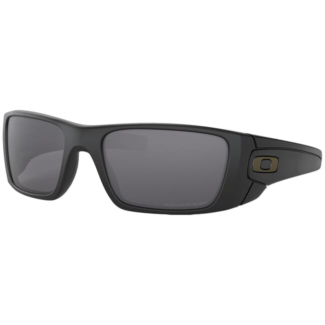 Oakley SI Fuel Cell Matte Black w/Grey Polarized Lenses OO9096-05