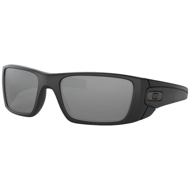 Oakley SI Fuel Cell Cerakote Graphite/Black w/Black Iridium Polarized Lenses OO9096-B3
