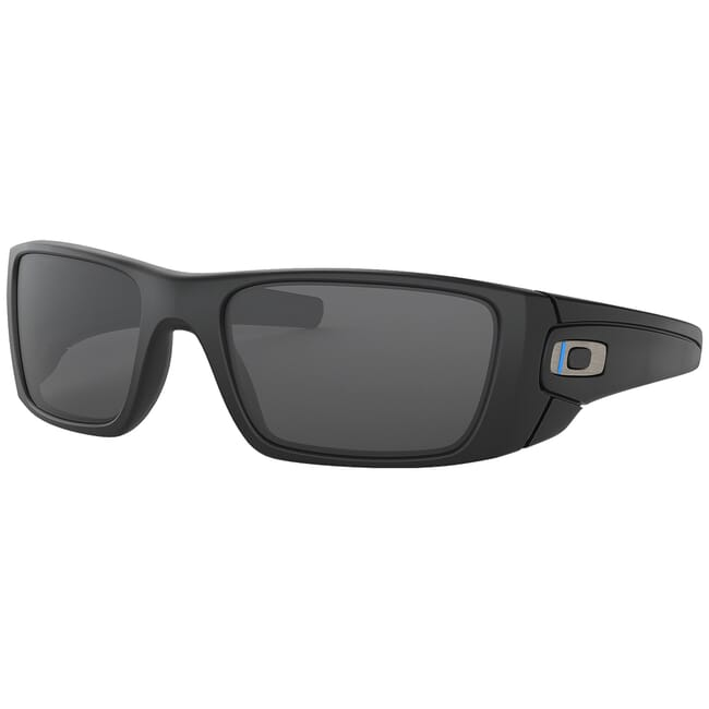 Oakley SI Fuel Cell Thin Blue Line w/Grey Lenses OO9096-G5