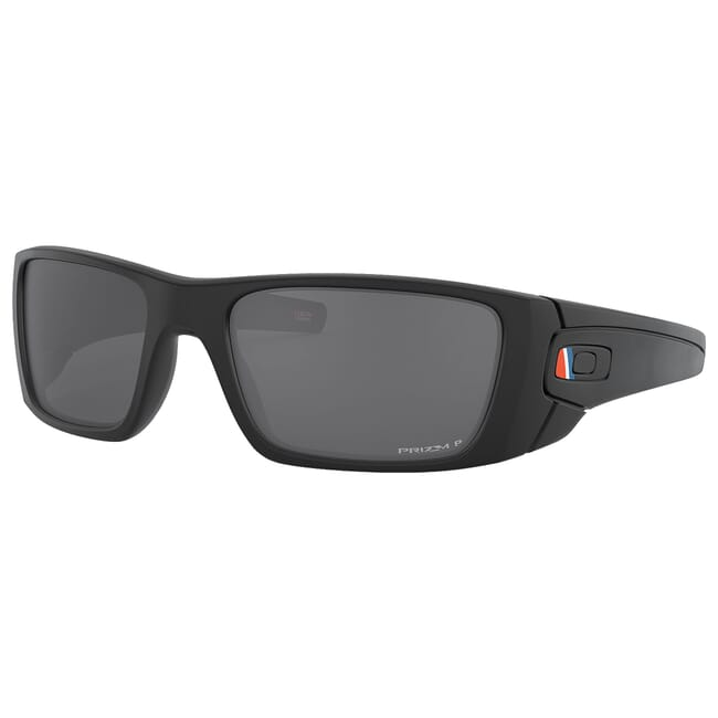 Oakley SI Fuel Cell Armed Forces  Coast Guard Matte Black w/PRIZM Black Polarized Lenses OO9096-L060