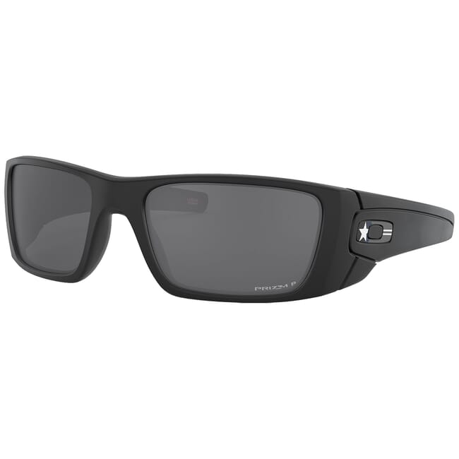 Oakley SI Fuel Cell Armed Forces Air Force Matte Black w/PRIZM Black Polarized Lenses OO9096-L260