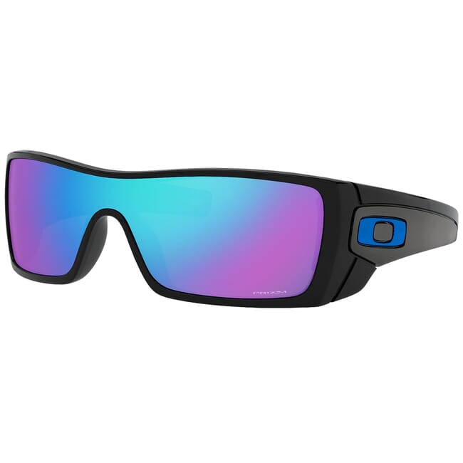 Oakley Batwolf Polished Black w/PRIZM Sapphire Lenses OO9101-5827