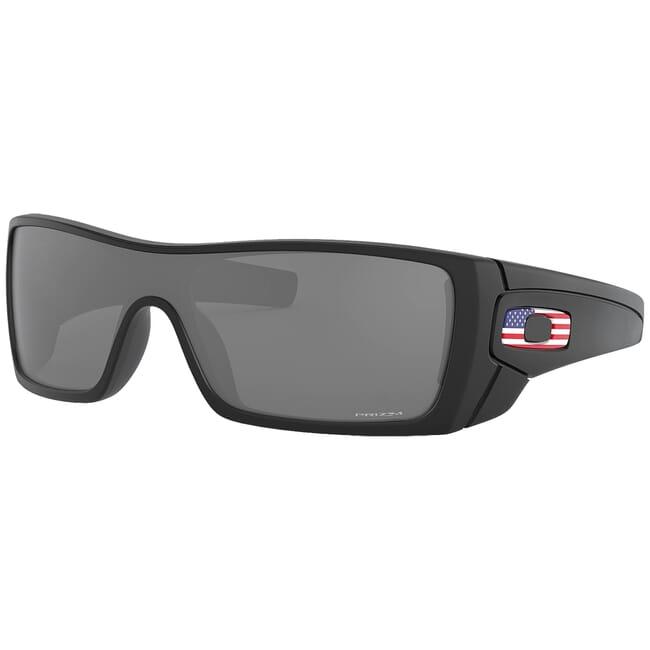 Oakley SI Batwolf Matte Black US Flag w/PRIZM Black Lenses OO9101-5927