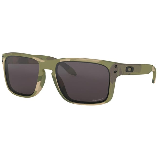 Oakley SI Holbrook Multicam with PRIZM Grey Polarized Lenses OO9102-I255