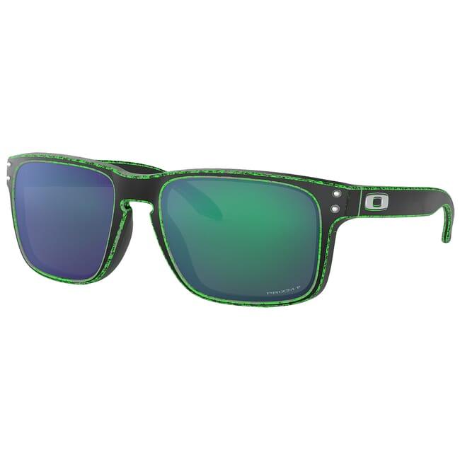 Oakley Holbrook Race Worn Green w/PRIZM Jade Polished Lenses OO9102-I655