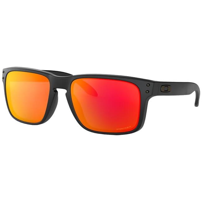 Oakley Holbrook Matte Black w/PRIZM Ruby Lenses OO9102-E255