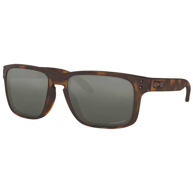 Oakley Holbrook Matte Brown Tortoise w/PRIZM Black Lenses OO9102-F455