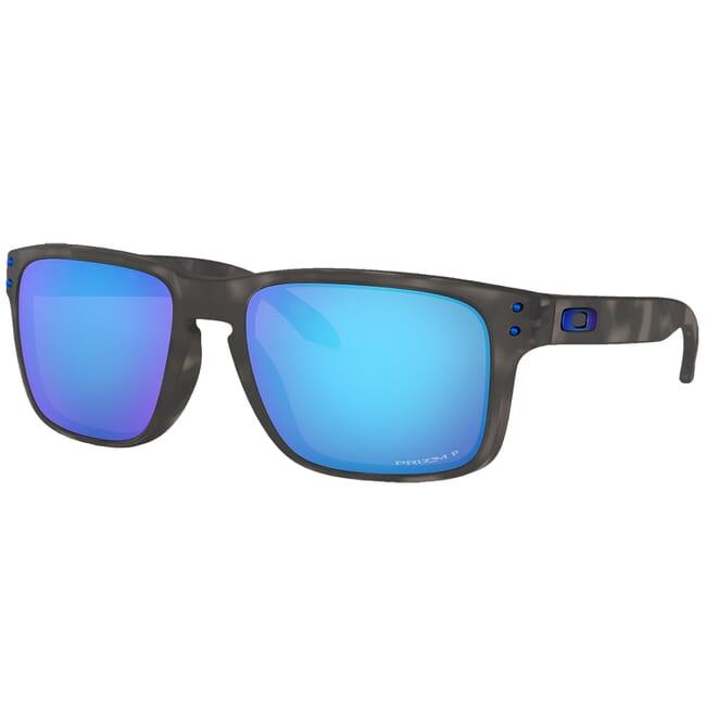 Oakley Holbrook Matte Black Tortoise w/PRIZM Sapphire Polarized Lenses OO9102-G755