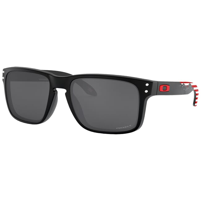 "Oakley SI Holbrook American Heritage ""Stars and Stripes"" w/PRIZM Black Polarized Lenses OO9102-O555"