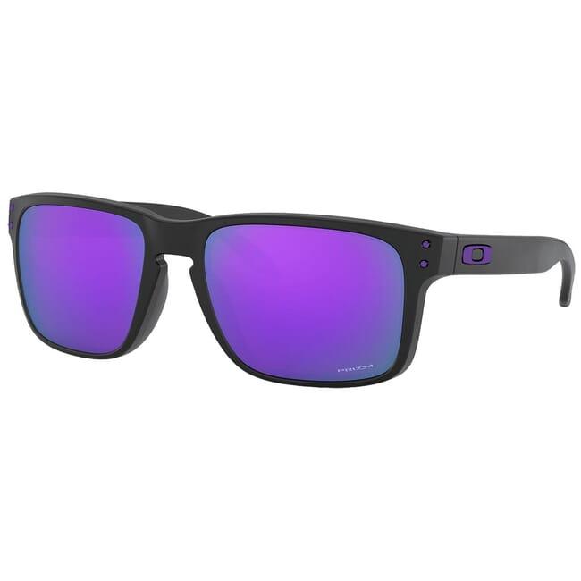Oakley Holbrook Matte Black w/PRIZM Violet Lenses OO9102-K655