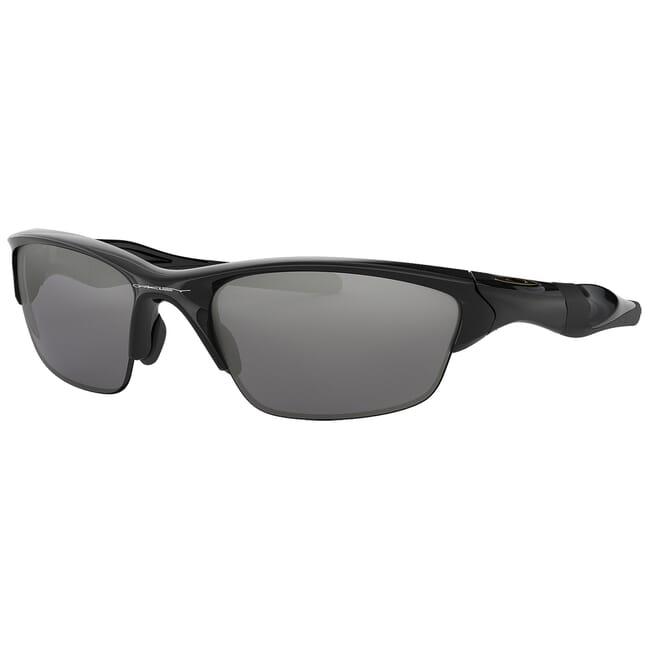 Oakley Half Jacket 20 Polished Black w/Black Iridium Lenses OO9144-01