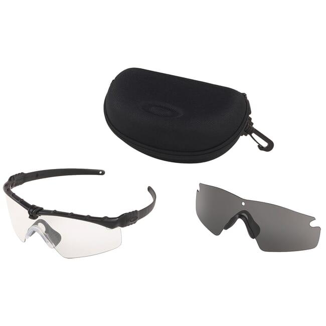 Oakley SI Ballistic M Frame 3.0 Black w/Clear and Grey Lens Array OO9146-03