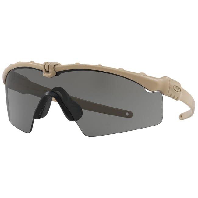 Oakley SI Ballistic M Frame 3.0 Dark Bone w/Grey Lenses OO9146-05