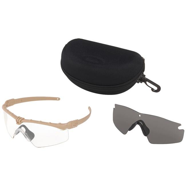 Oakley SI Ballistic M Frame 3.0 Dark Bone w/Clear and Grey Lens Array OO9146-07