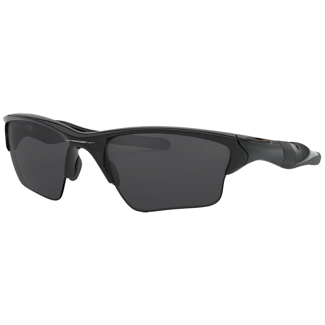 Oakley Half Jacket 20 XL Polished Black w/Black Iridium Lenses OO9154-01