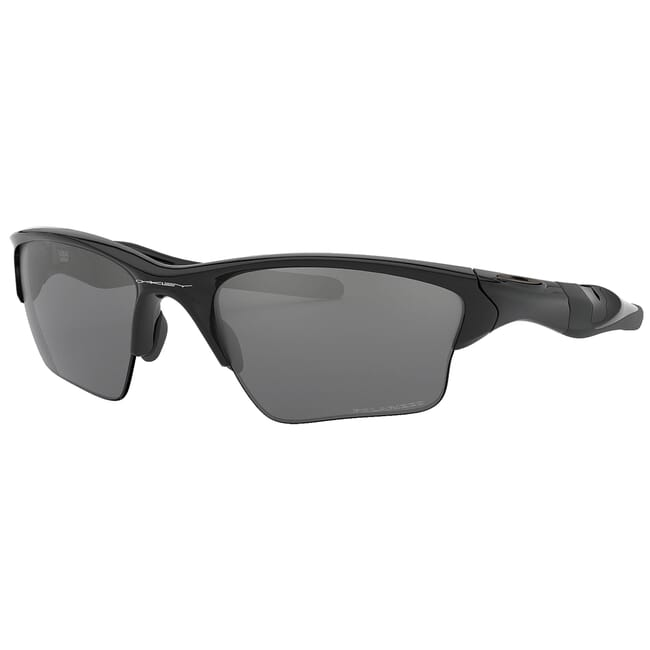 Oakley Half Jacket 20 XL Polished Black w/Black IridiumPolr Lenses OO9154-05