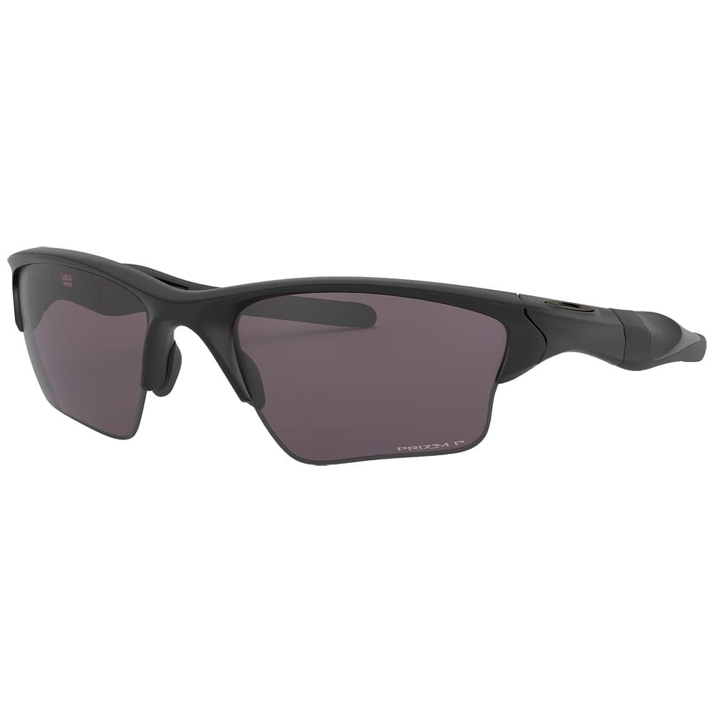 Oakley SI Half Jacket 2.0 XL Matte Black w/PRIZM Grey Polarized Lenses OO9154-6262