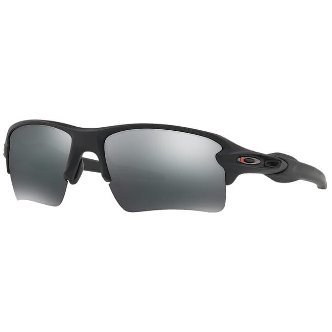 Oakley SI Flak 2.0XL Thin Red Line Satin Black w/Black Iridium Lenses OO9188-6459