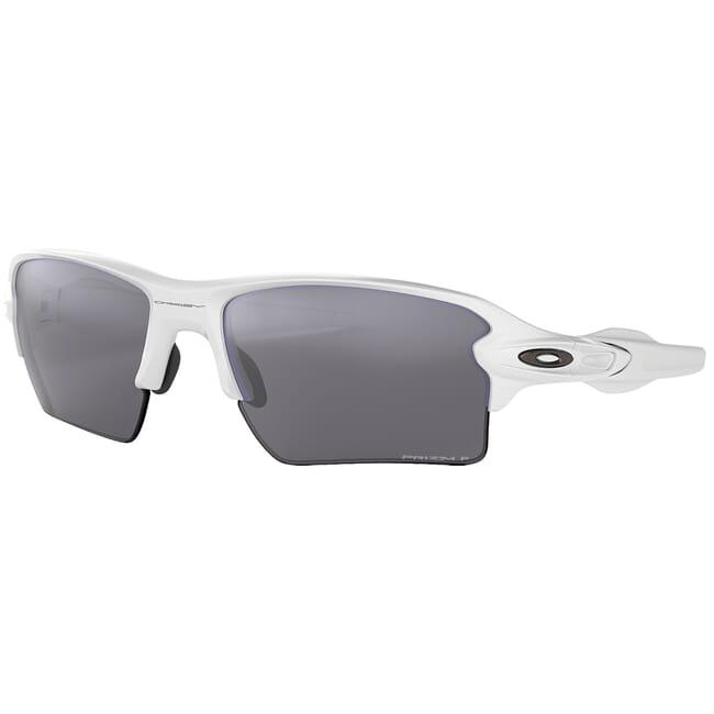 Oakley Flak 20 XL Polished White w/PRIZM Black Polarized Lenses OO9188-7659