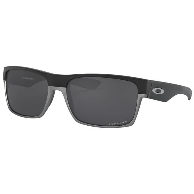 Oakley Two Face Matte Black w/PRIZM Black Polarized Lenses OO9189-3860