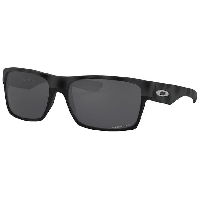 Oakley Two Face Black Camo w/PRIZM Black Polarized Lenses OO9189-4160