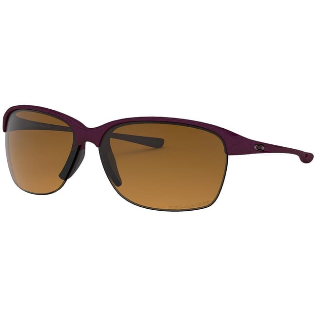 Oakley Unstoppable Raspberry Spritzer w/Brown Gradient Polarized Lenses OO9191-03