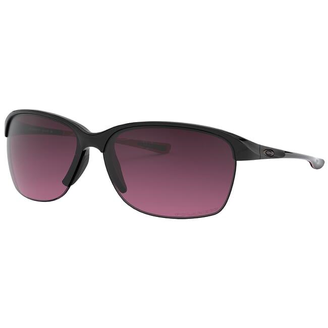 Oakley Unstoppable Polished Black/Smokey O w/Rose Gradient Polarized Lenses OO9191-10