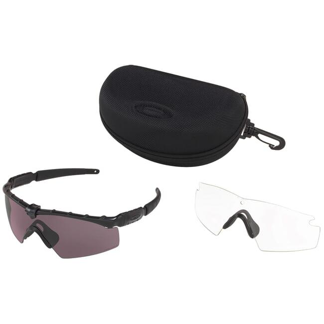 Oakley SI Ballistic M Frame 2.0 Matte Black w/PRIZM Grey and Clear Lens Array OO9213-0632