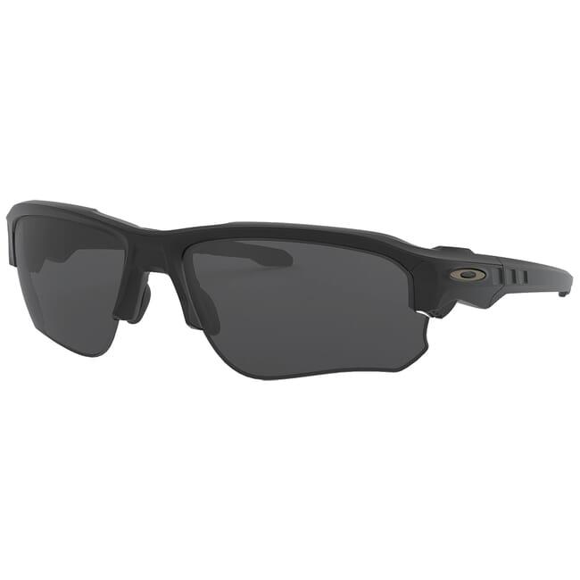 Oakley SI Speed Jacket Matte Black w/Grey Lenses OO9228-01