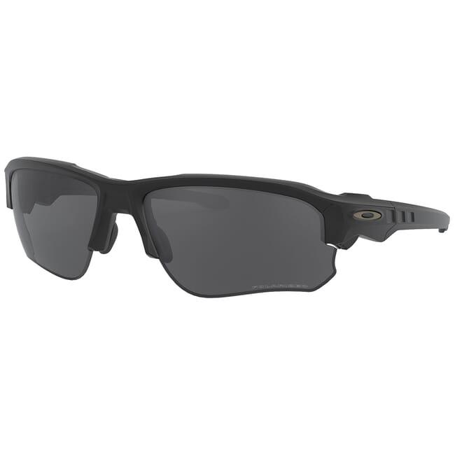Oakley SI Speed Jacket Matte Black w/Grey Polarized Lenses OO9228-02
