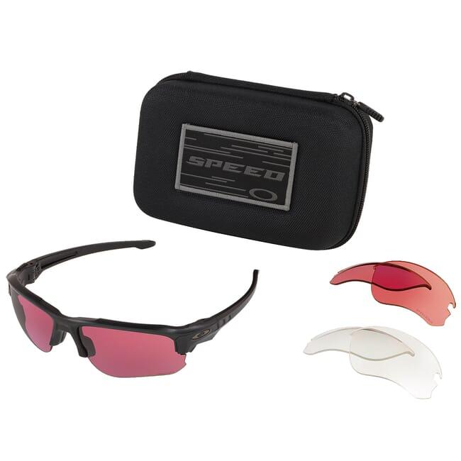 Oakley SI Speed Jacket Matte Black w/Lens Array Clear/TR22/TR45 OO9228-05