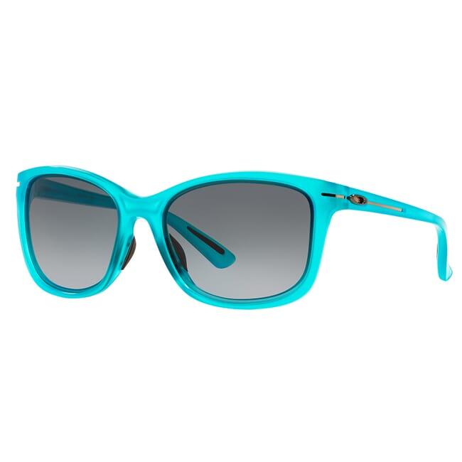 Oakley Drop In Frosted Illumination Blue w/Black Grey Gradient Lenses OO9232-10