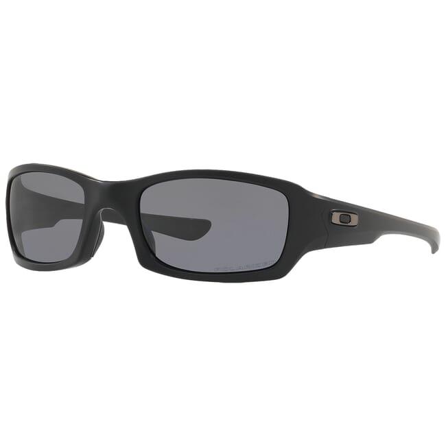 Oakley SI Fives Squared Matte Black w/Grey Polarized Lenses OO9238-11