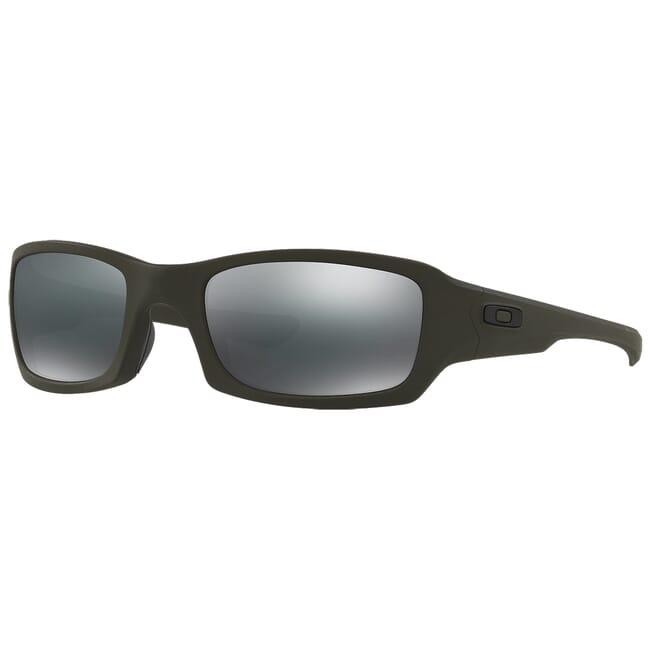 Oakley SI Fives Squared Cerakote Mil Spec Green w/Black Iridium Lenses OO9238-2154