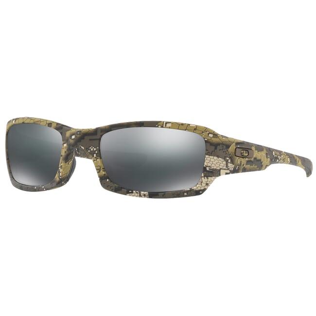 Oakley SI Fives Squared Desolve Bare w/Black Iridium Lenses OO9238-3154