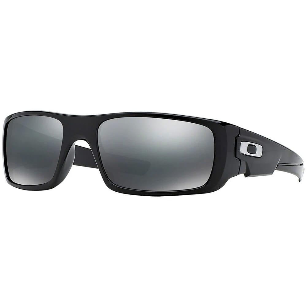 Oakley Crankshaft Matte Black w/Black Iridium Polarized Lenses OO9239-06