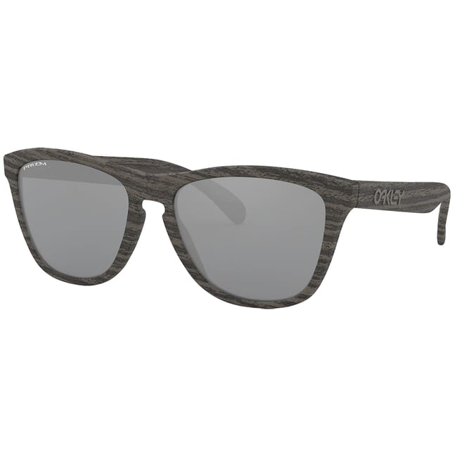 Oakley Frogskins (A) Woodgrain w/PRIZM Black Lenses OO9245-9754