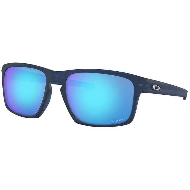Oakley Sliver Matte Translucent Blue w/PRIZM Sapphire Lenses OO9262-4557