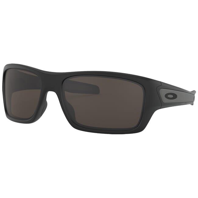 Oakley Turbine Matte Black w/Warm Grey Lenses OO9263-01