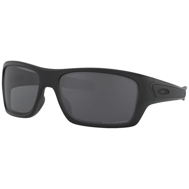 Oakley Turbine Matte Black w/Grey Polarized Lenses OO9263-07