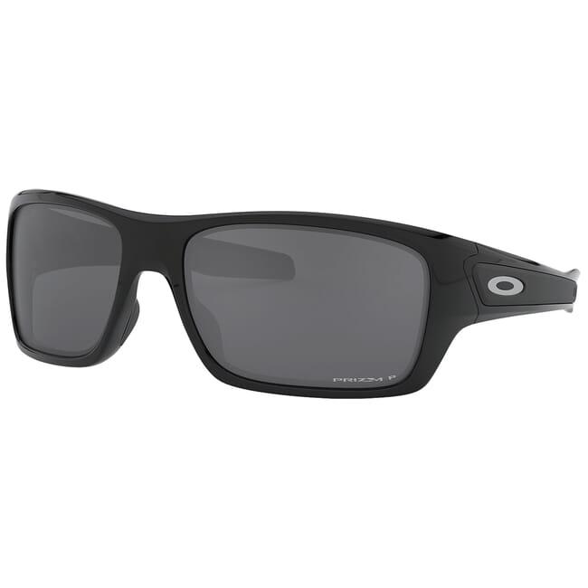 Oakley Turbine Polished Black w/PRIZM Black Polarized Lenses OO9263-4163