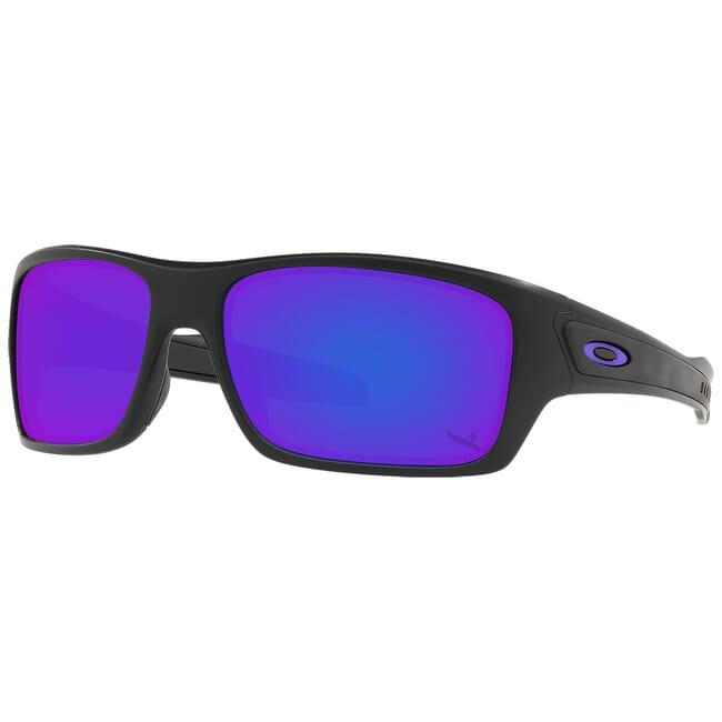 Oakley SI Turbine Infinite Hero Matte Black w/Violet Iridium Lenses OO9263-5163